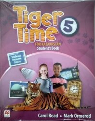 Tiger Time 5 for Kazakhstan Student's Book + Workbook