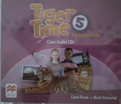 Tiger Time 5 for Kazakhstan Class Audio CDs