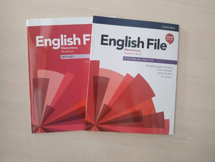 English File Elementary 4 ed (Student's Book + Workbook)