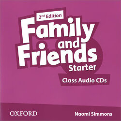 Family and Friends Starter Class Audio CDs (2nd edition)