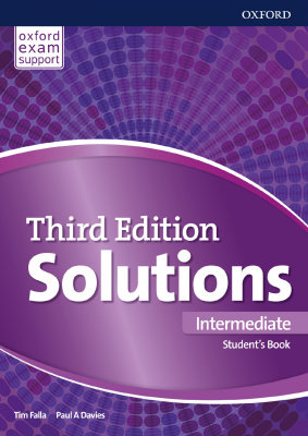 Solutions Intermediate Student's Book + Workbook (3rd edition)