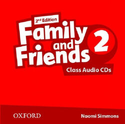 Family and Friends 2 Class Audio CDs (2nd edition)