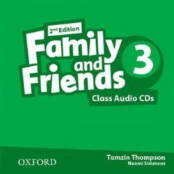Family and Friends 3 Class Audio CDs (2nd edition)