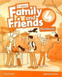 Family and Friends 4 Class Book+Workbook (2nd edition)