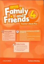 Family and Friends 4 Teacher's Book Plus (2nd edition)