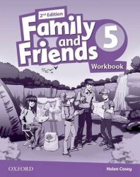 Family and Friends 5 Class Book+Workbook (2nd edition)