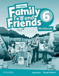 Family and Friends 6 Class Book+Workbook (2nd edition)